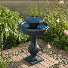 Blenheim Two Tier Solar on Demand Fountain