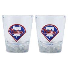 MLB Shot Glass Cup (Set of 2)