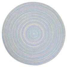Tropical Delight Periwinkle Indoor/Outdoor Area Rug