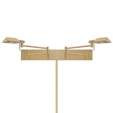 Cue LED Double Swing Arm Light