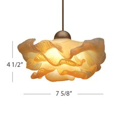 European 1 Light Brittany Pendant with Canopy Mount