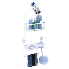 Shower Caddy in White