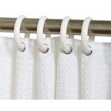 Plastic Shower Curtain (Set of 12)