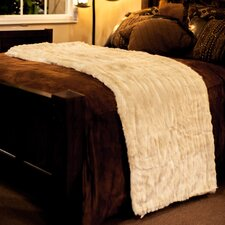 Cougar Throw Blanket with Silky Soft Faux Fur Lining