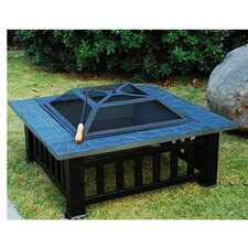 Outsunny Backyard Patio Fire Pit