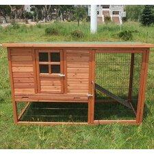 Pawhut Hutch Chicken Coop with Nesting Box