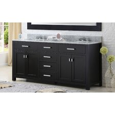 "Madison 60"" Double Bathroom Vanity Set"