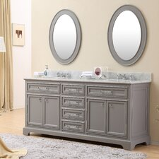 "Derby 72"" Double Sink Bathroom Vanity"