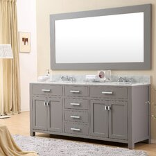 "Madison 72"" Double Sink Bathroom Vanity"