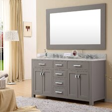"Madison 60"" Double Sink Bathroom Vanity"