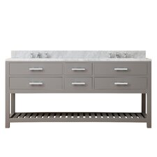 "Madalyn 72"" Double Sink Bathroom Vanity"