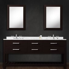 "Madalyn 60"" Double Bathroom Vanity Set"