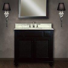 """London 36"""" Single Bathroom Vanity Set"""