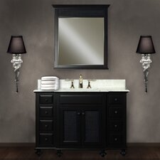 "London Water Creation 48"" Single Bathroom Vanity Set with Mirror"