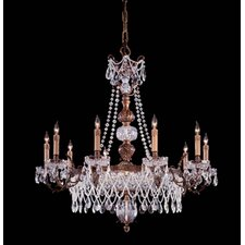 Metropolitan 15 Light Chandelier in Dark Flemish