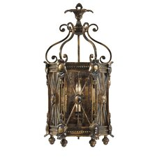 Vintage 3 Light 2 Tier Wall Sconce