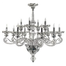 12 Light Candle Chandelier