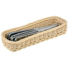 Polyrattan Rectangular Flatware/Bread Basket (Set of 3)