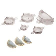 5 Piece Dumpling Mold Set (Set of 2)