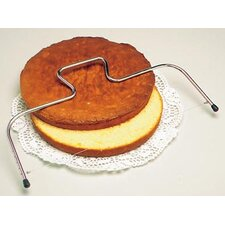 Adjustable Cake Wire Slicer in Stainless Steel (Set of 2)