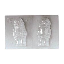 "5.88"" Standing Design Santa Claus Chocolate Mold"