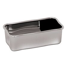 Stainless Steel Sugar and Condiments Holder (Set of 2)