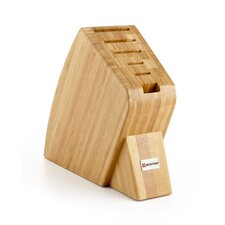 6-Slot Studio Bamboo Knife Block