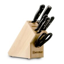 Gourmet 7 Piece Starter Knife Block Set
