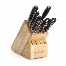 Classic 9 Piece Cutlery Block Set
