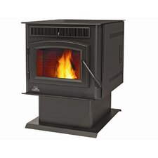TPS35 Economizer Rear Vent 2,000 Square Foot Pellet Stove