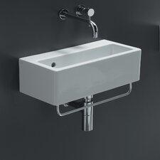 Area Boutique Ice Rectangle Ceramic Bathroom Sink