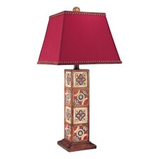 """33"""" H Table Lamp with Square Shade"""