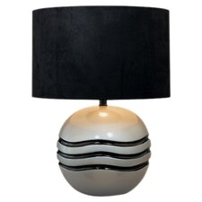 "21"" H Table Lamp with Drum Shade"