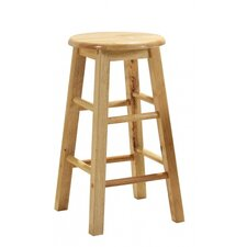 Solid Rubber Bar Stool (Set of 2)