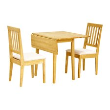 Avens Extendable Dining Table and 2 Chairs
