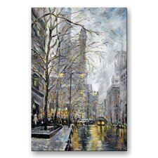 'Chicago' by Ingrid Dohm Painting Print Plaque