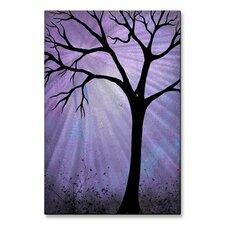 'Breaking Dawn Painting' by Charlene Murrar Zatloukal Graphic Art Plaque