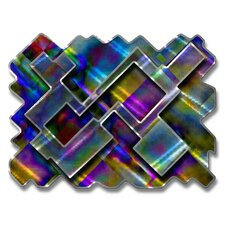 Psychedelic Labyrinth Abstract Wall Décor