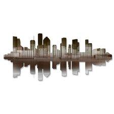 Houston Reflection II Wall Décor