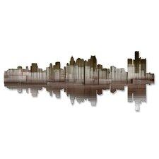 Detroit Reflection II Wall Décor