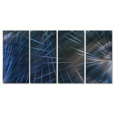 Network III by Ash Carl Metal Wall Art