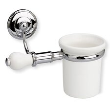 Nemi Wall Mounted Toothbrush Holder with End Cap