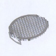 Lens Single Clip Structure Louver in Black