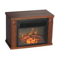 Comfort Glow Bookshelf Electronic Fireplace