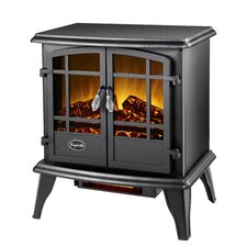 Comfort Glow Keystone Quartz 700 Square Foot Electric Stove