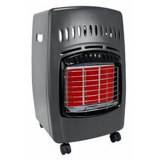 18,000 BTU Portable Propane Infrared Compact Heater