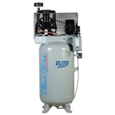 80 Gallon 7.5 HP Vertical 2 Stage 1 Phase Air Compressor with Starter