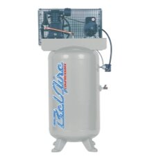 80 Gallon 5 HP Vertical 2 Stage 1 Phase Air Compressor