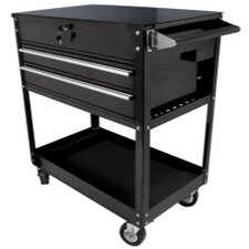 "37.5"" Wide 2 Drawer Service Cart"
