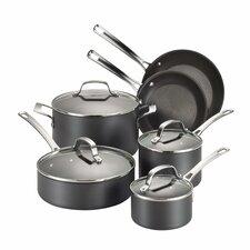 Genesis 10 Piece Hard Anodized Cookware Set